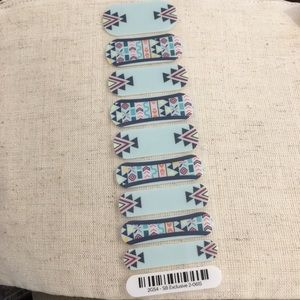 Blue Aztec SB Exclusive Jamberry Nail Wraps